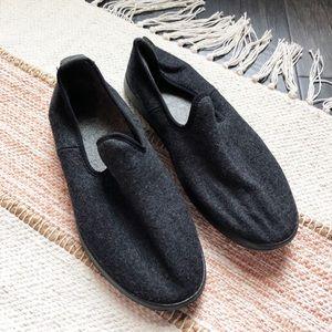Allbirds Black Wool Loungers Loafers